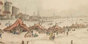 Party At A Modern Frost Fair