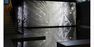 An Installation Made Out Of Ice By Artist Elizabeth Ogilvie