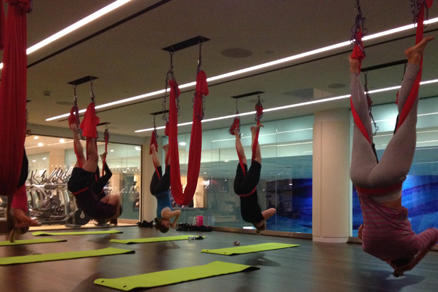 Antigravity Yoga/ Virgin Active Health Clubs