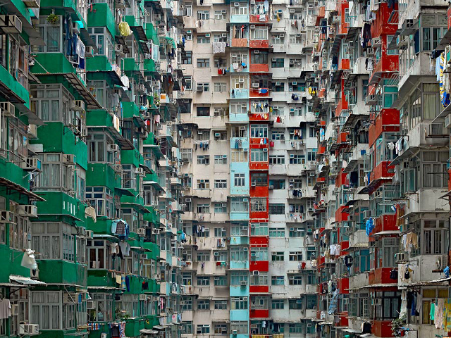 Architecture of Density #119 (Photo: Michael Wolf, courtesy of Flowers Gallery)