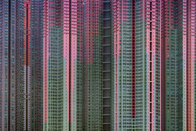 Architecture of Density #39 (Photo: Michael Wolf, courtesy of Flowers Gallery)
