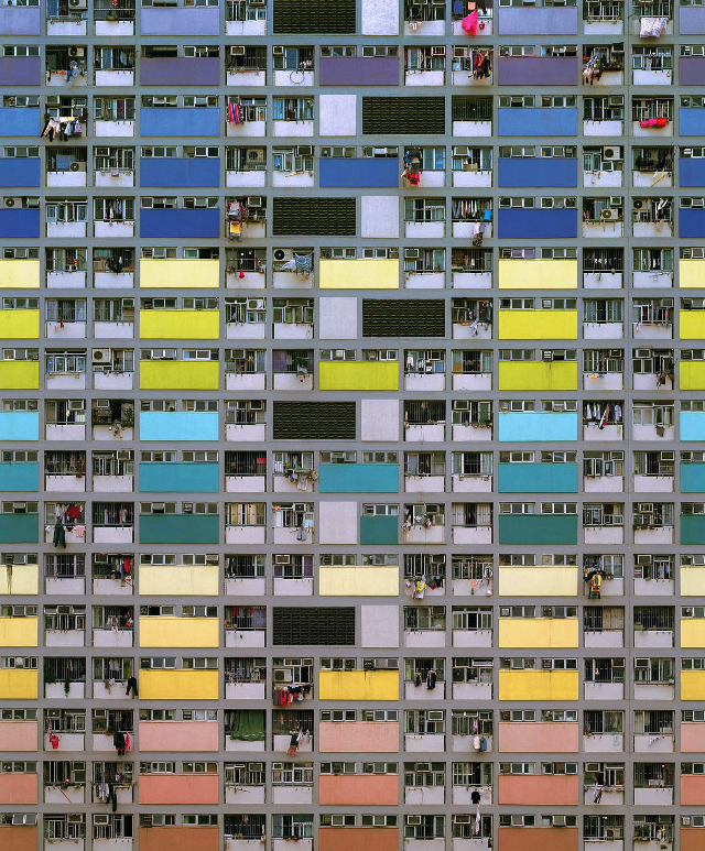 Architecture of Density #75 (Michael Wolf, courtesy of Flowers Gallery)