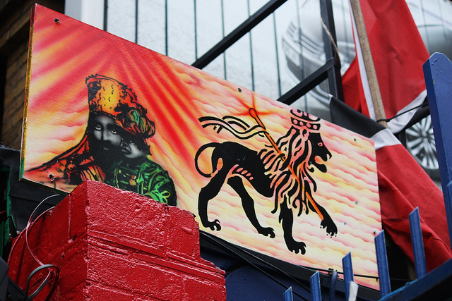 Brixton Market Lion by Stephanie Sadler via flickr
