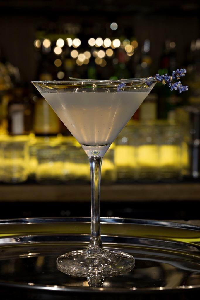 Lavender and Honey Martini @ Dirty Martini