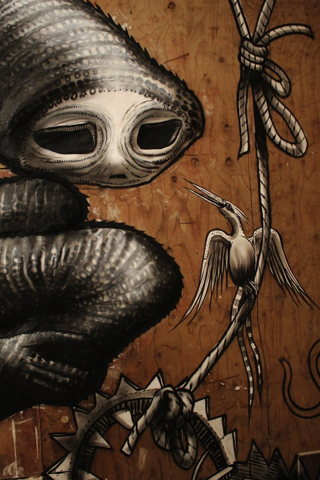 Phlegm's Bestiary Comes To Shoreditch