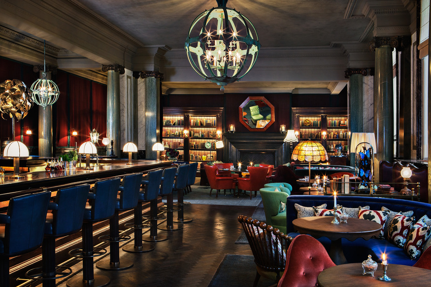 Scarfes Bar @ The Rosewood London