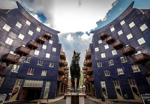 Jacob the Dray Horse near Shad Thames by Scott Baldock.