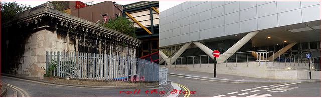 Blackfriars Bridge, 2008 and 2013.