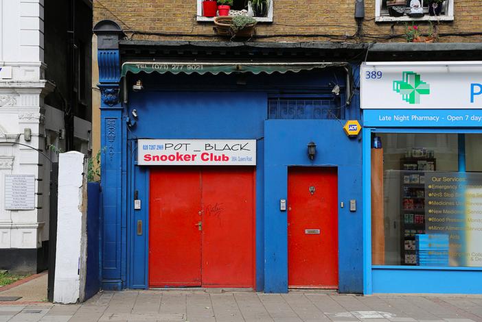 Pot Black Snooker Club by Steve Reed