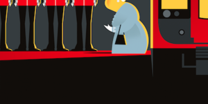 London Stories Illustrated At London Transport Museum