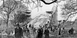 A Ski Jump On Hampstead Heath
