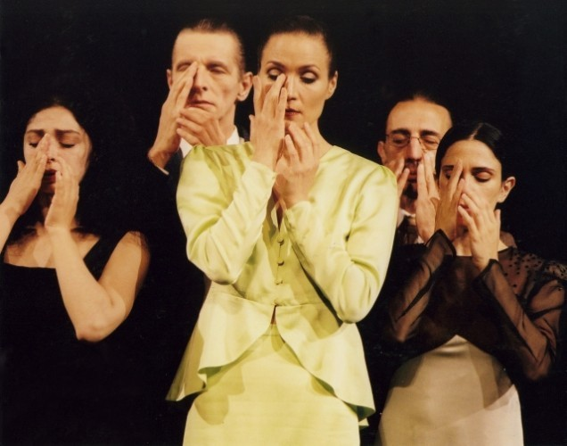 Tanztheater Wuppertal Pina Bausch in 1980. Image by Ulli Weiss