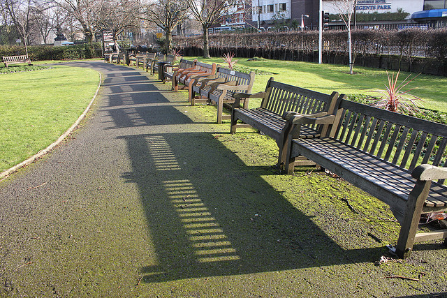 Benches by Fabio Lugaro on Flickr