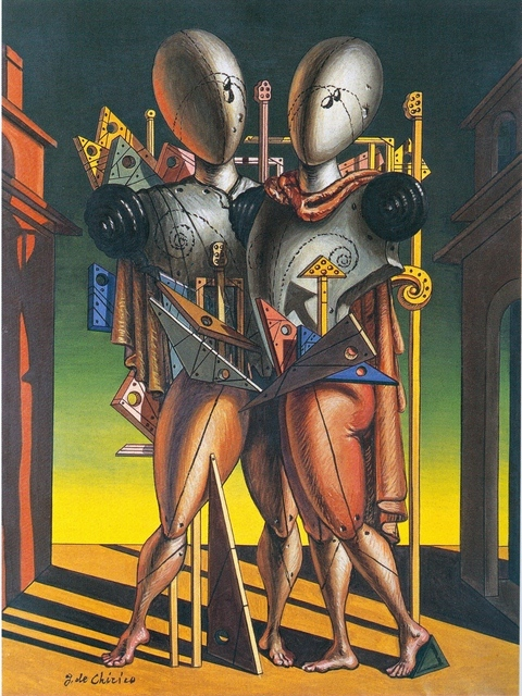 Giorgio de Chirico (1888-1978) Hector and Andromache, 1942 Private collection. Courtesy Galleria d'Arte Maggiore, Bologna (Italy)