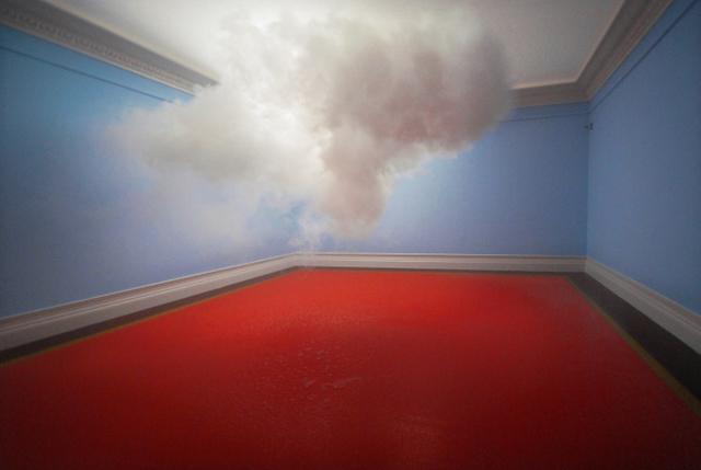 Berndnaut Smilde, Nimbus, 2010, courtesy of the artist and Ronchini Gallery
