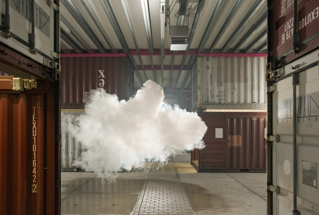 Berndnaut Smilde, Nimbus NP3, 2012, courtesy the artist and Ronchini Gallery