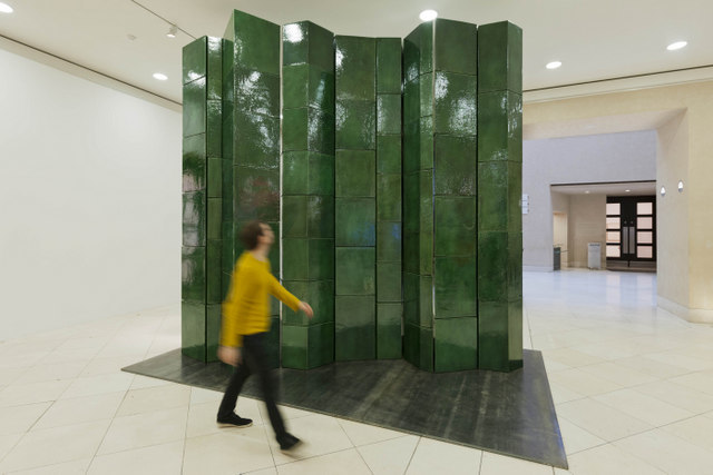 Richard Deacon, Fold 2012. Photography: L Dawkins, Tate Photography © Richard Deacon