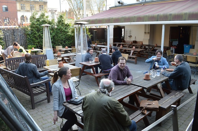 One of the biggest beer gardens in inner London.