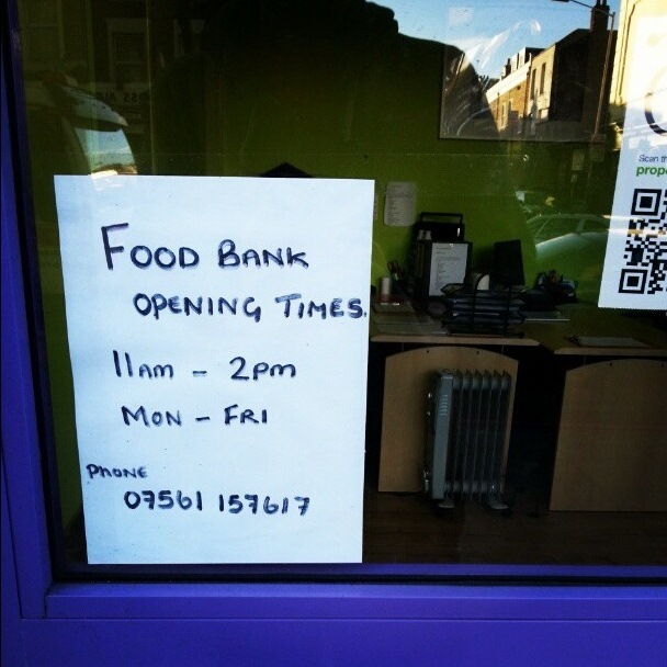London Food Bank Use Up By 400% In Two Years
