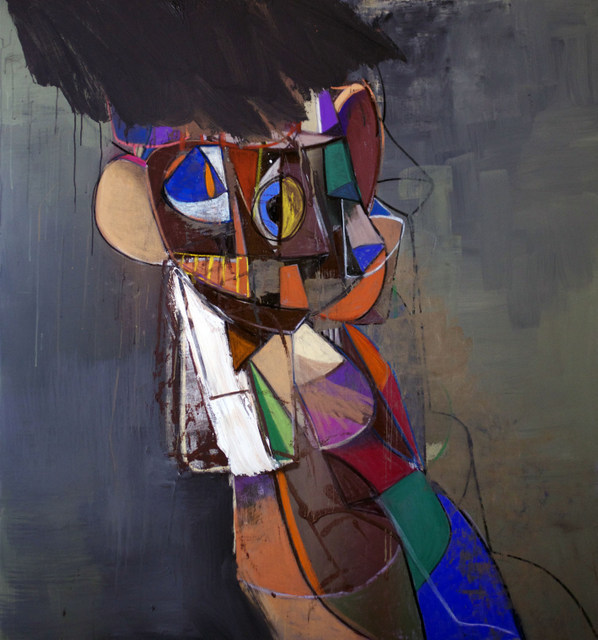 George Condo Wild Man of Borneo, 2013 © George Condo Courtesy of the artist and Simon Lee Gallery, London.