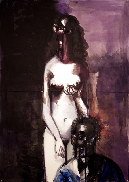 George Condo, Mother and Child, 2013 © George Condo Courtesy of the artist and Skarstedt