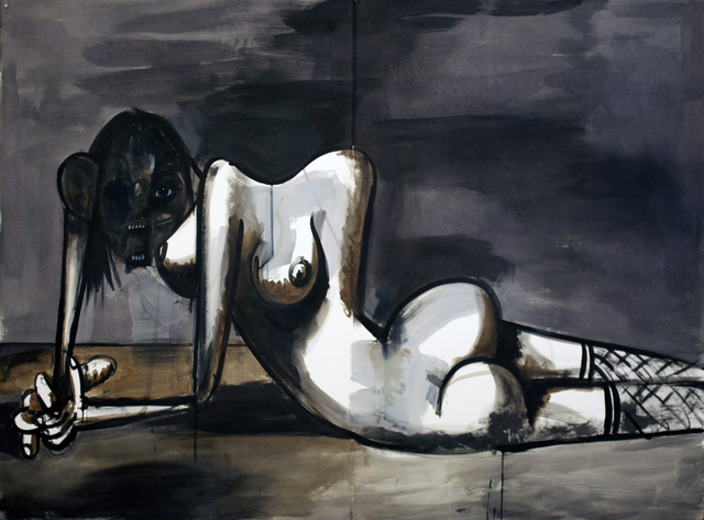 George Condo, The Discarded Human, 2013 © George Condo Courtesy of the artist and Skarstedt