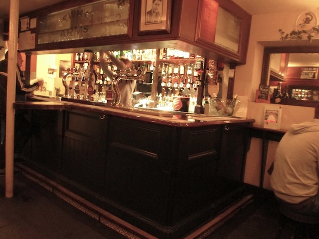 One of London's smallest bars.