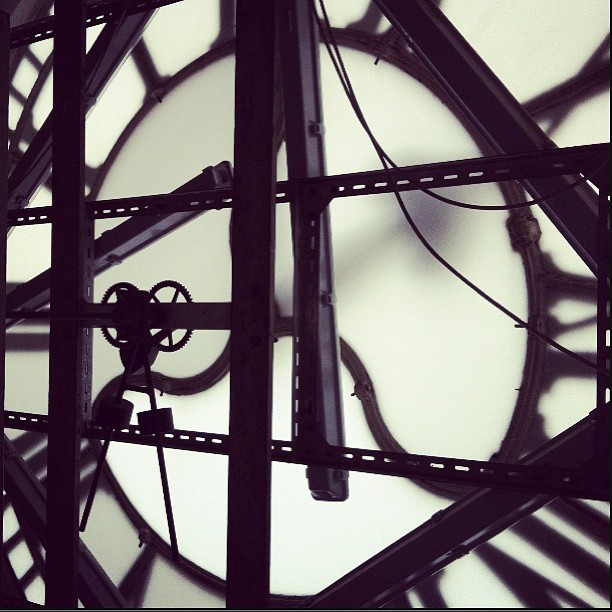 Inside Kings Cross Clock Tower by Derek G Crook via flickr