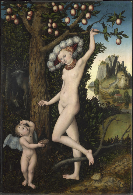 Lucas Cranach the Elder (1472   1553) Cupid complaining to Venus, about 1525 The National Gallery, London © The National Gallery, London