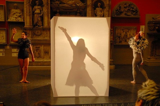 Shadow Box @ Friday Late at the V&A in 2010 by Andrew Smith on Flickr