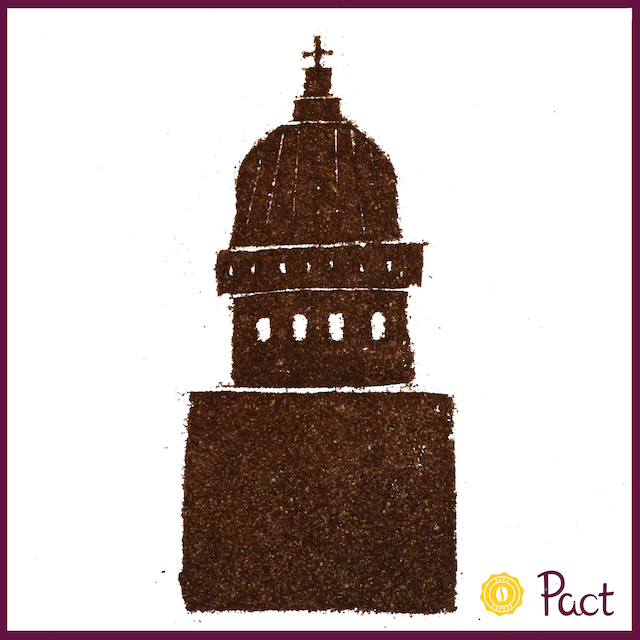 Pact Coffee Creations: The Gherkin & St Paul's Cathedral
