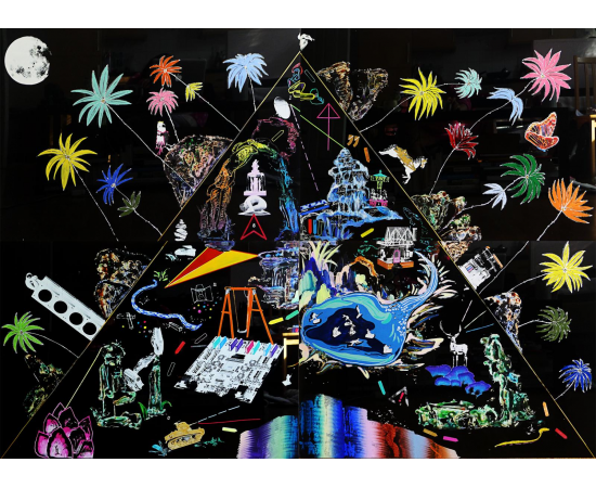 Luna Jungeun Lee, The Lost World. Image courtesy DegreeArt