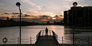 In Photos: London Docks