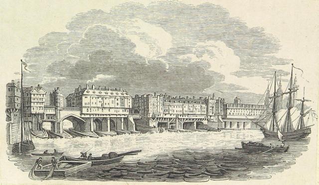 The Perils Of Old London Bridge