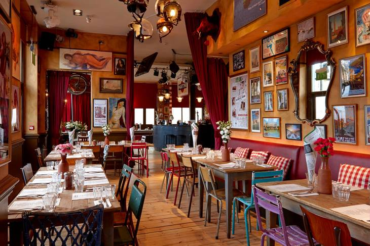 We've found London's quirkiest restaurants ->