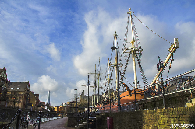 Tobacco Dock's ship by JAY via Flickr