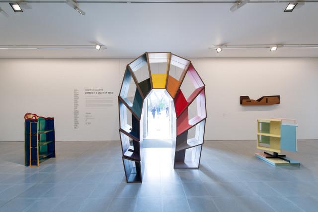 Martino Gamper Installation view, design is a state of mind © 2014 Hugo Glendinning