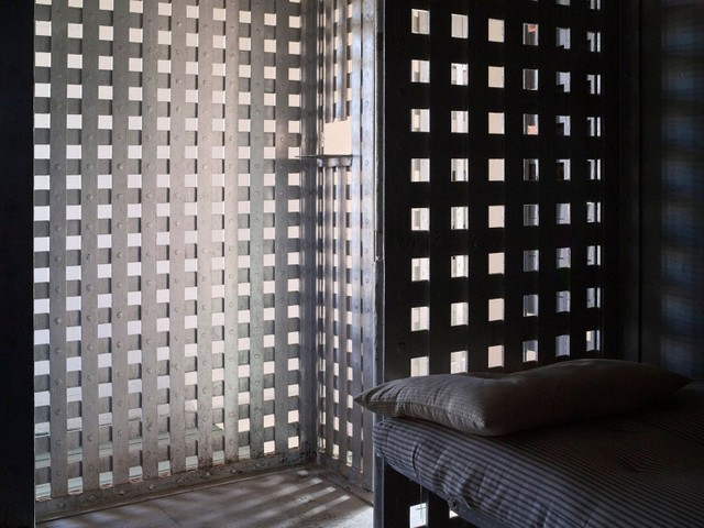Briscoe County Jail Cell, Silverton, Texas 2012. Image courtesy the artist and Michael Hoppen Contemporary
