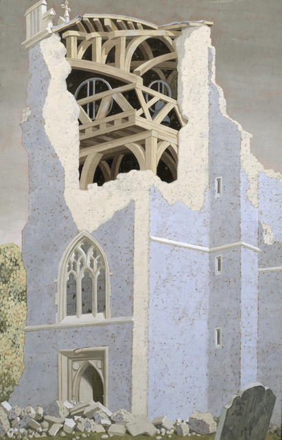 John Armstrong Coggeshall Church, Essex 1940. Tate