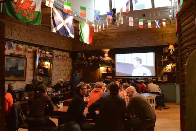 The 'Great Hall' must rank as one of London's best sports bars.