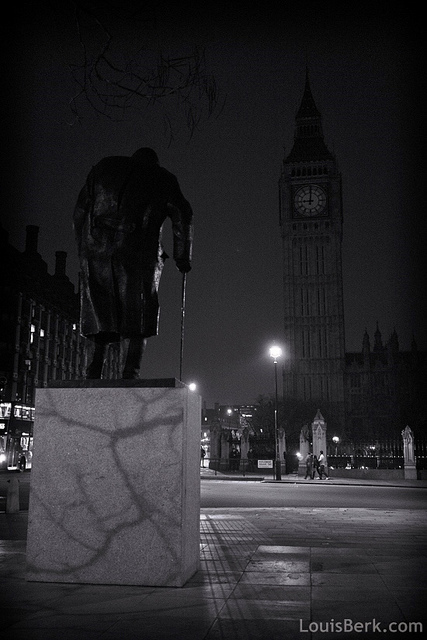 Parliament Square by Louis Berk