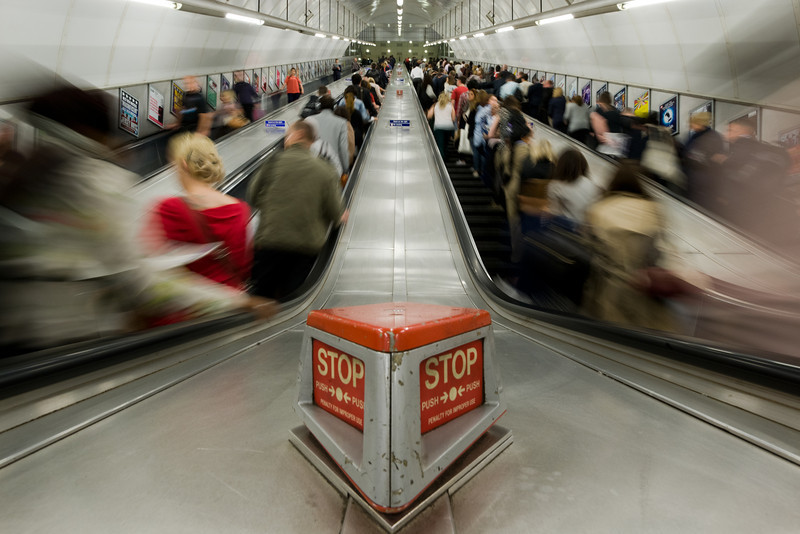 Holborn escalator.