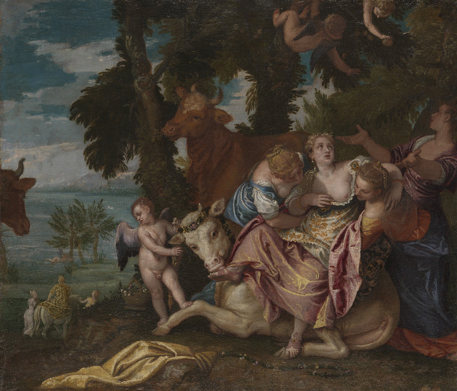 Paolo Veronese (1528-1588) The Rape of Europa, 1575 © The National Gallery, London (NG97)