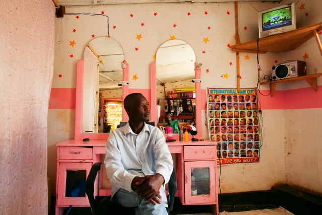Pink Barber, Andrew Esiebo