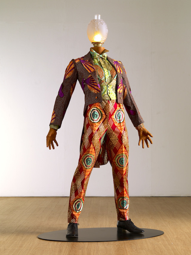 MBE Fire, Yinka Shonibare, 2010. Copyright the artist. Courtesy of Yinka Shonibare and Stephen Friedman Gallery, London.