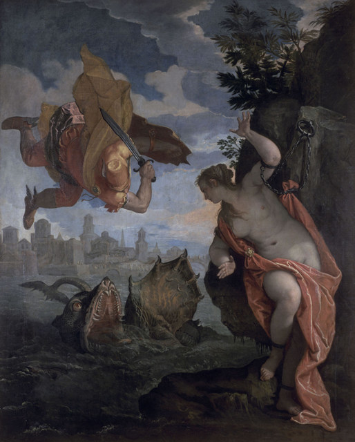 Paolo Veronese (1528-1588) Perseus and Andromeda, 1575-80 Musée des Beaux - Arts, Rennes (1801-1-1) © MBA, Rennes, Dist. RMN/Adélaïde Beaudoin