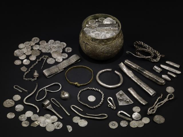 The Vale of York hoard, AD 900s. North Yorkshire, England. British Museum, London/Yorkshire Museum, York. Copyright of the Trustees of the British Museum