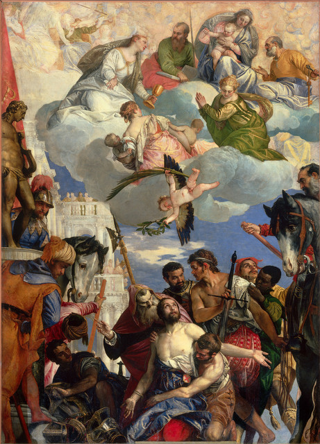 Paolo Veronese (1528-1588) Martyrdom of Saint George, about 1565 Chiesa di San Giorgio in Braida, Verona © Photo Scala, Florence