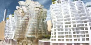 Battersea Power Station Development Designs By Gehry And Foster