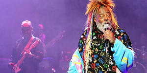 The Invincible George Clinton Funks Up The Forum